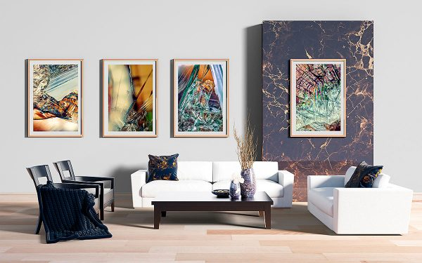 abstract fine art photography I melancholia II blur III confusion VI breakout - living room gallery
