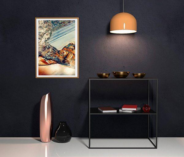 abstract fine art photography I melancholia - framed wallart hall way