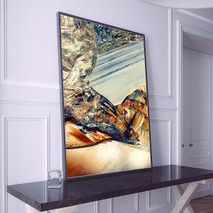 abstract fine art photography I melancholia - framed wallart big