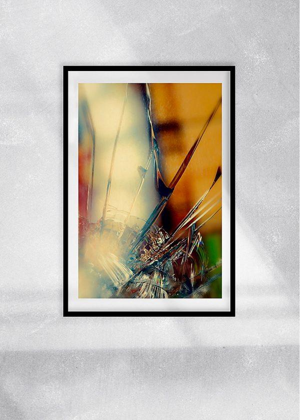 abstract fine art photography II blur - framed wallart