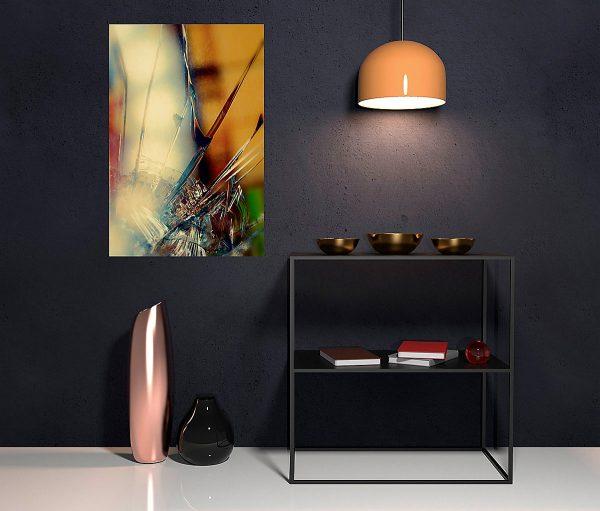 abstract fine art photography II blur - hall way dark