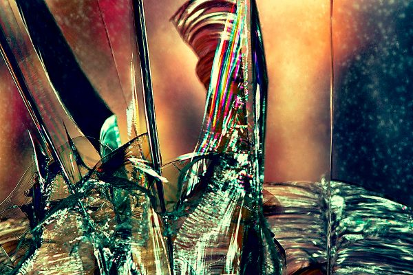abstract fine art photography V tension