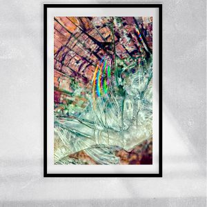 abstract fine art photography VI breakout - framed wallart