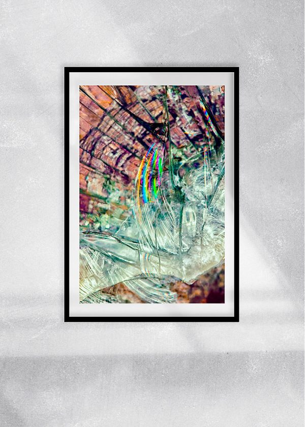 abstract fine art photography VI breakout - framed wallart