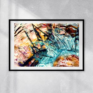abstract fine art photography VII harmony - framed wallart
