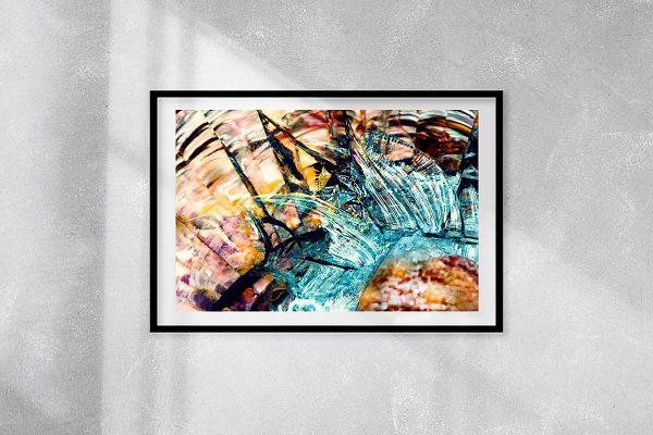 abstract fine art photography VII harmony - framed wallart