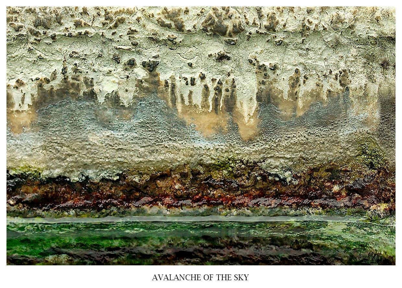 abstrakte makro fotografie avalanche of the sky - polaritaet der welten
