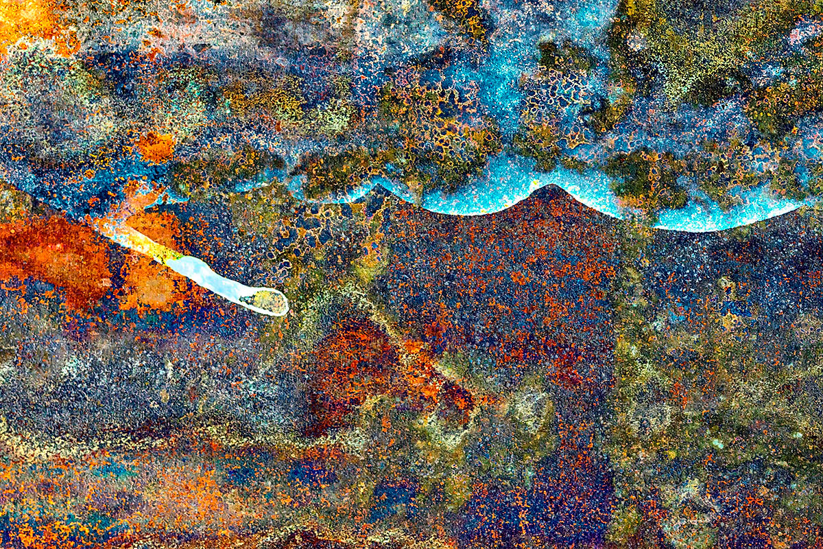 abstract fine art photography end of time